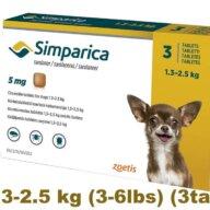 simparica Flea control for Dogs online pet pharmacy