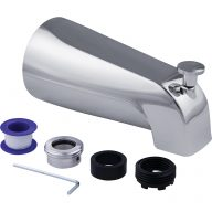 Diverter tub spout - Universal mounting