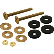 Toilet tank mounting bolt set - 2-1/2""