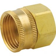 Garden hose fitting - Female swivel hose adapter