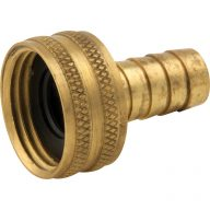 Garden hose fitting - Female swivel hose barb adapter