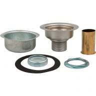 Supreme basket strainer assembly with tailpiece