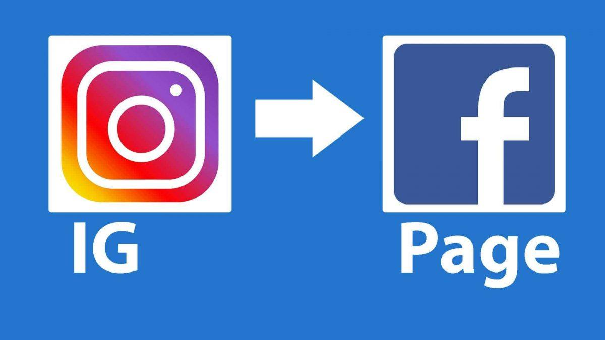 share instagram content to your Facebook page