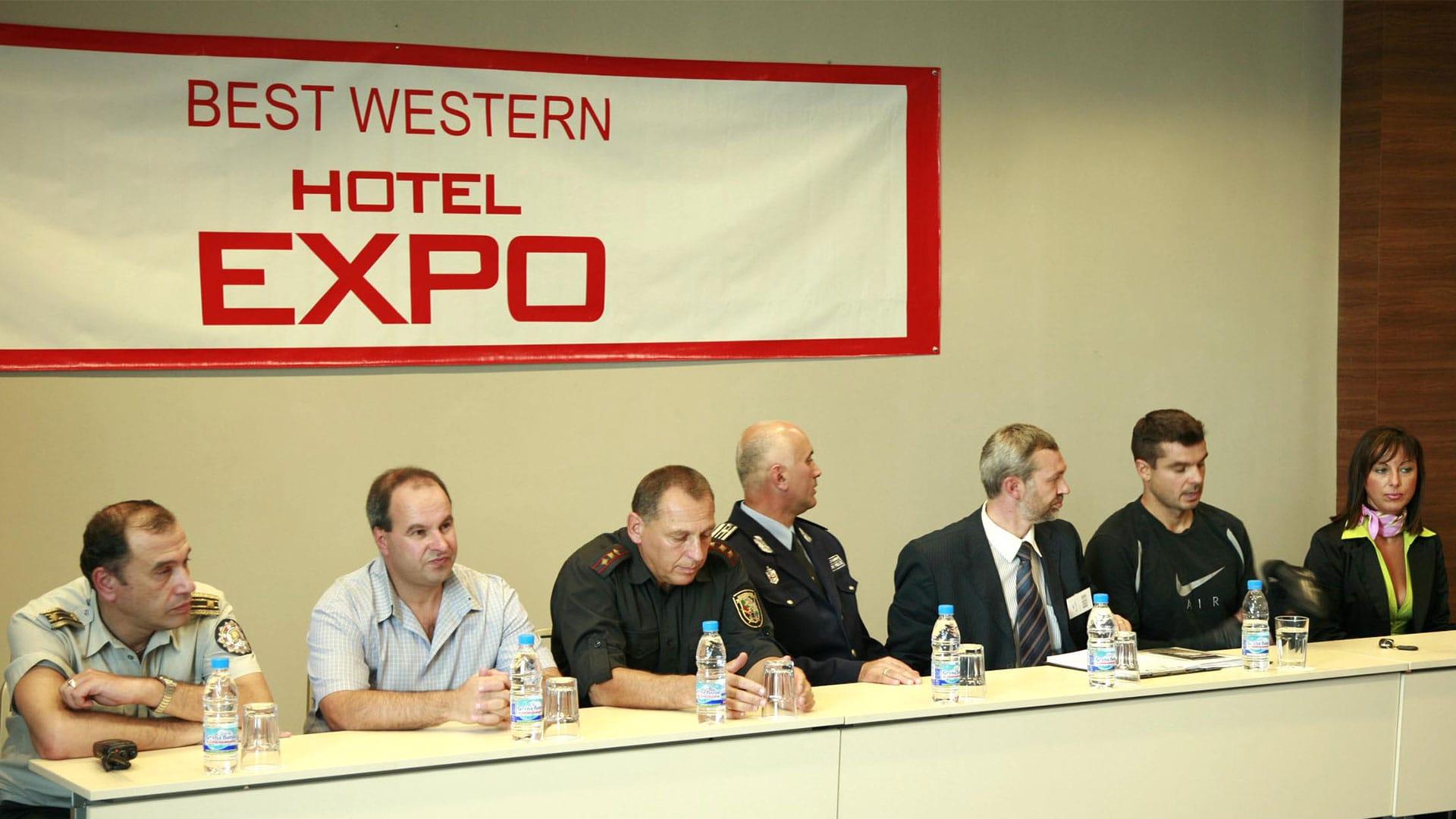 Прес конференция с директорите на МВР
