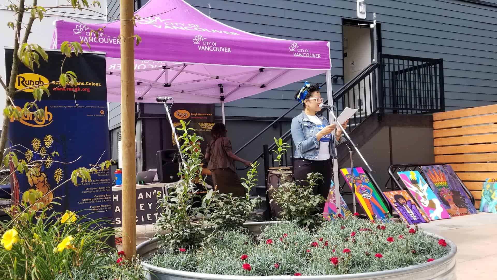 Summer Block Party: Rungh Readings With Hogan's Alley Society 2