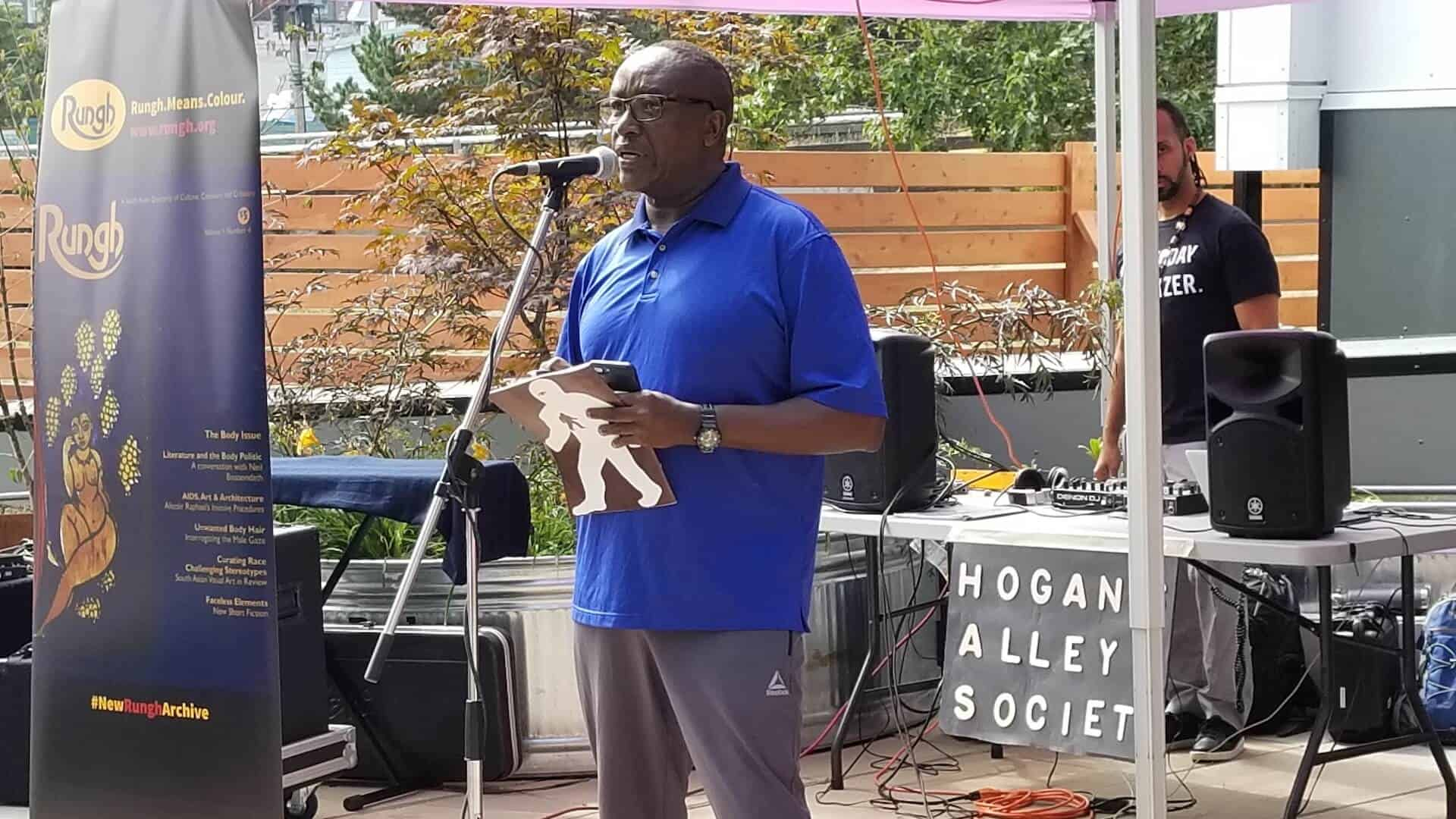Summer Block Party: Rungh Readings With Hogan's Alley Society 3
