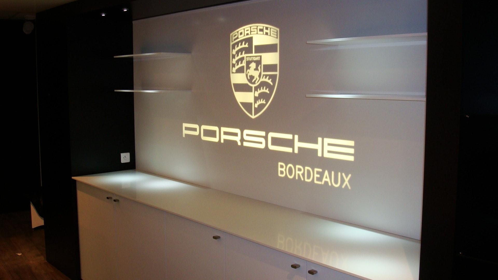 PORSCHE BORDEAUX - BF PRO CORIAN