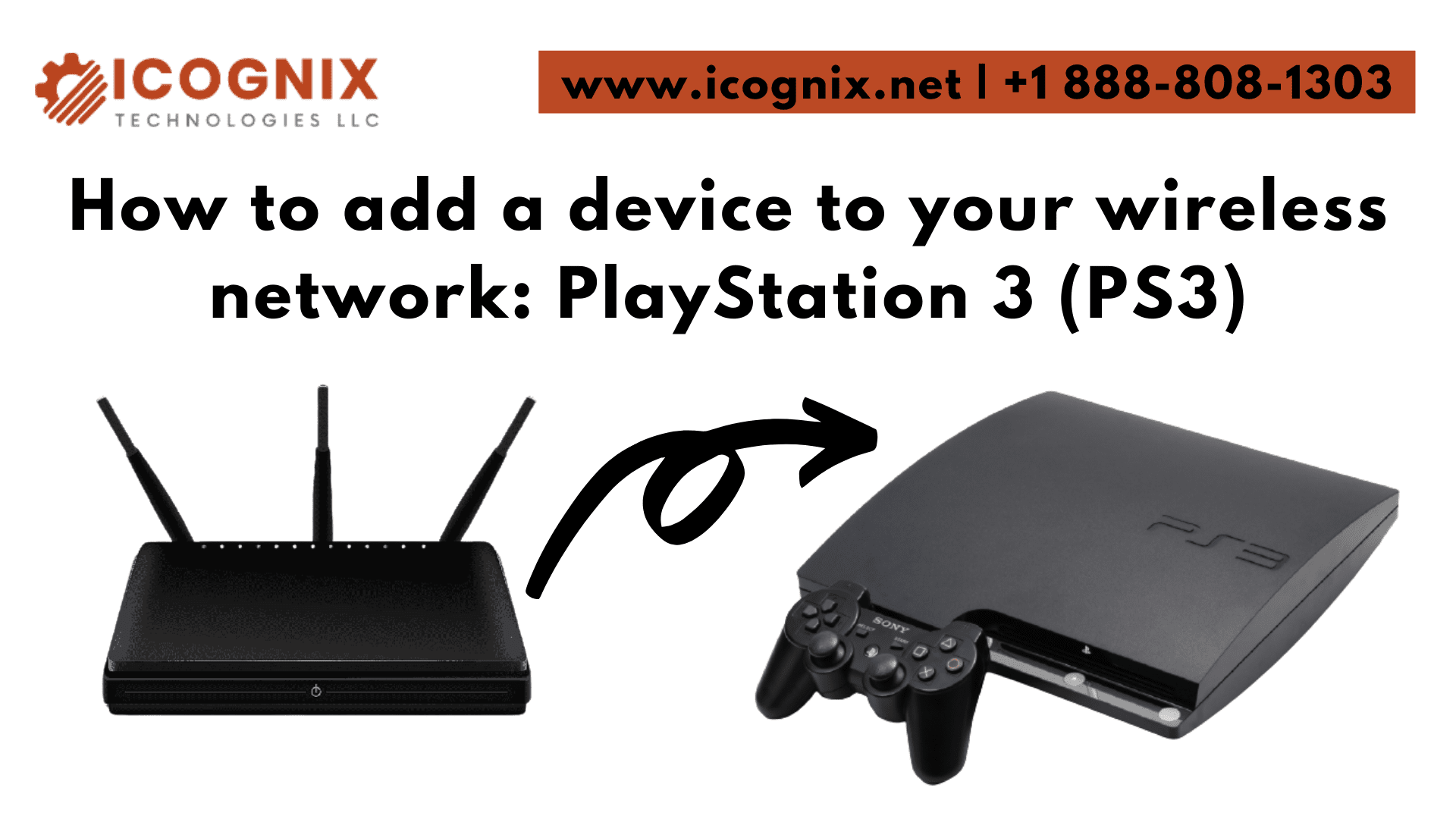 How to add a device to your wireless network PlayStation 3 (PS3)