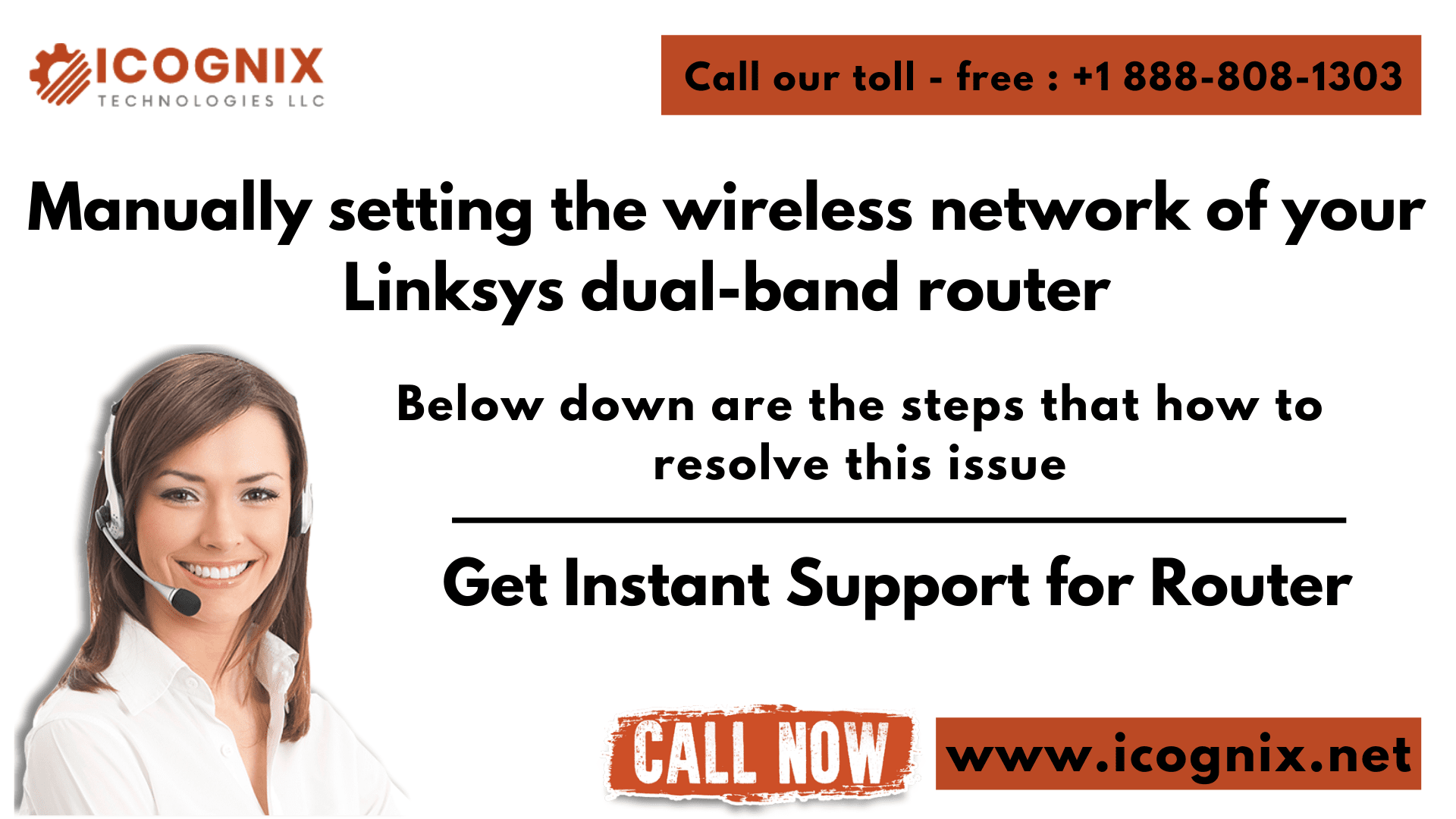 Manually setting the wireless network of your Linksys dual-band router