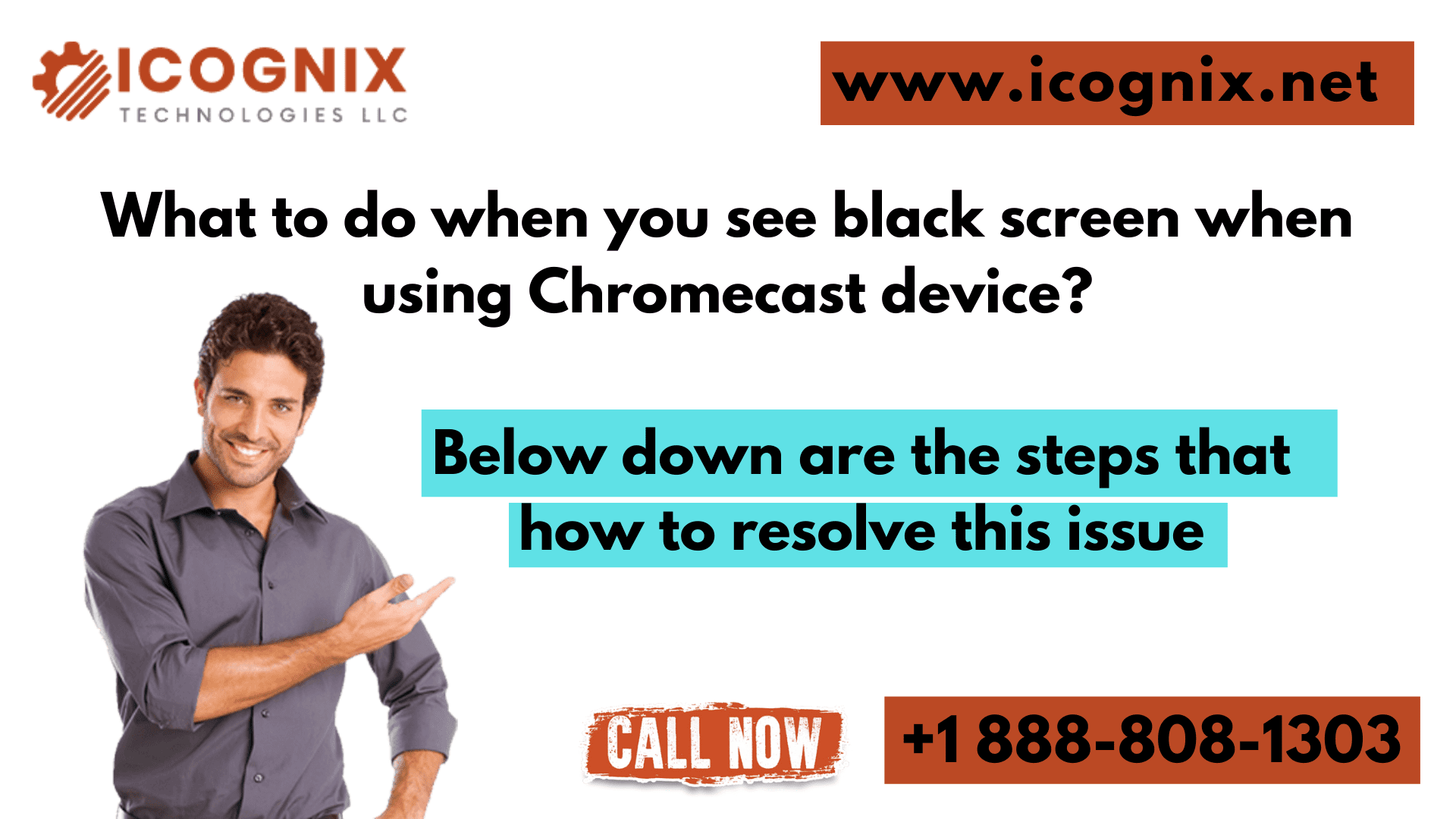 What to do when you see black screen when using Chromecast device?