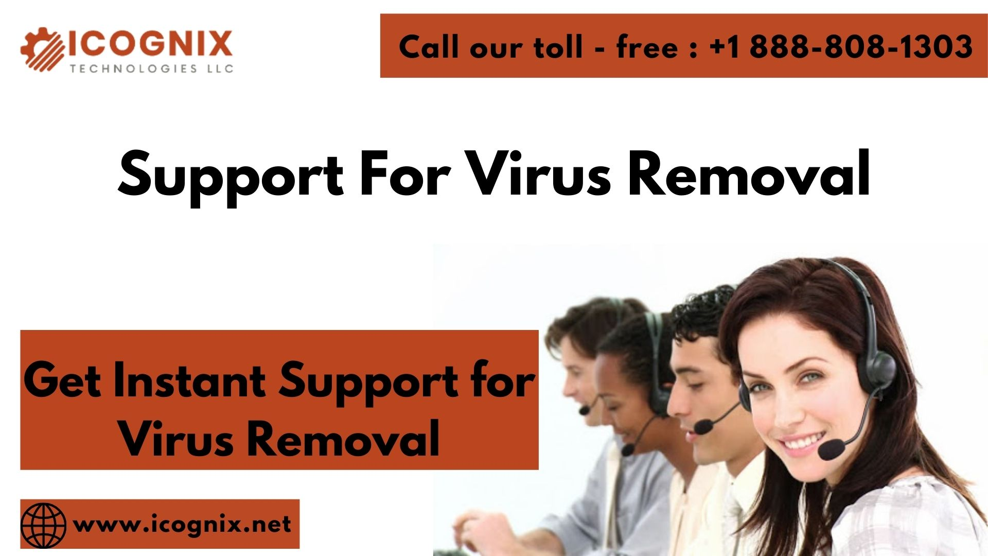 Support For Virus Removal