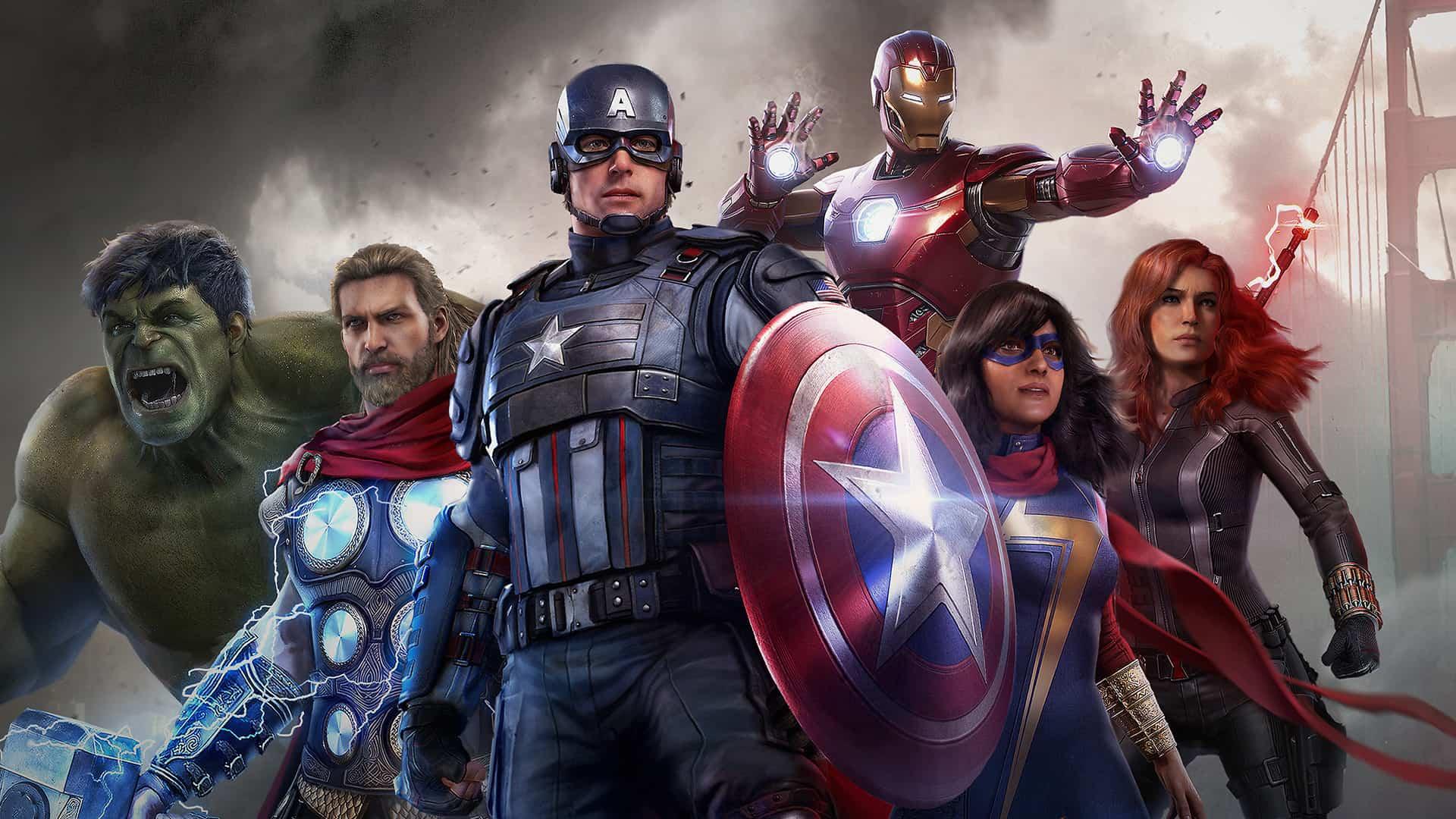 Consolas dos Vingadores da Marvel