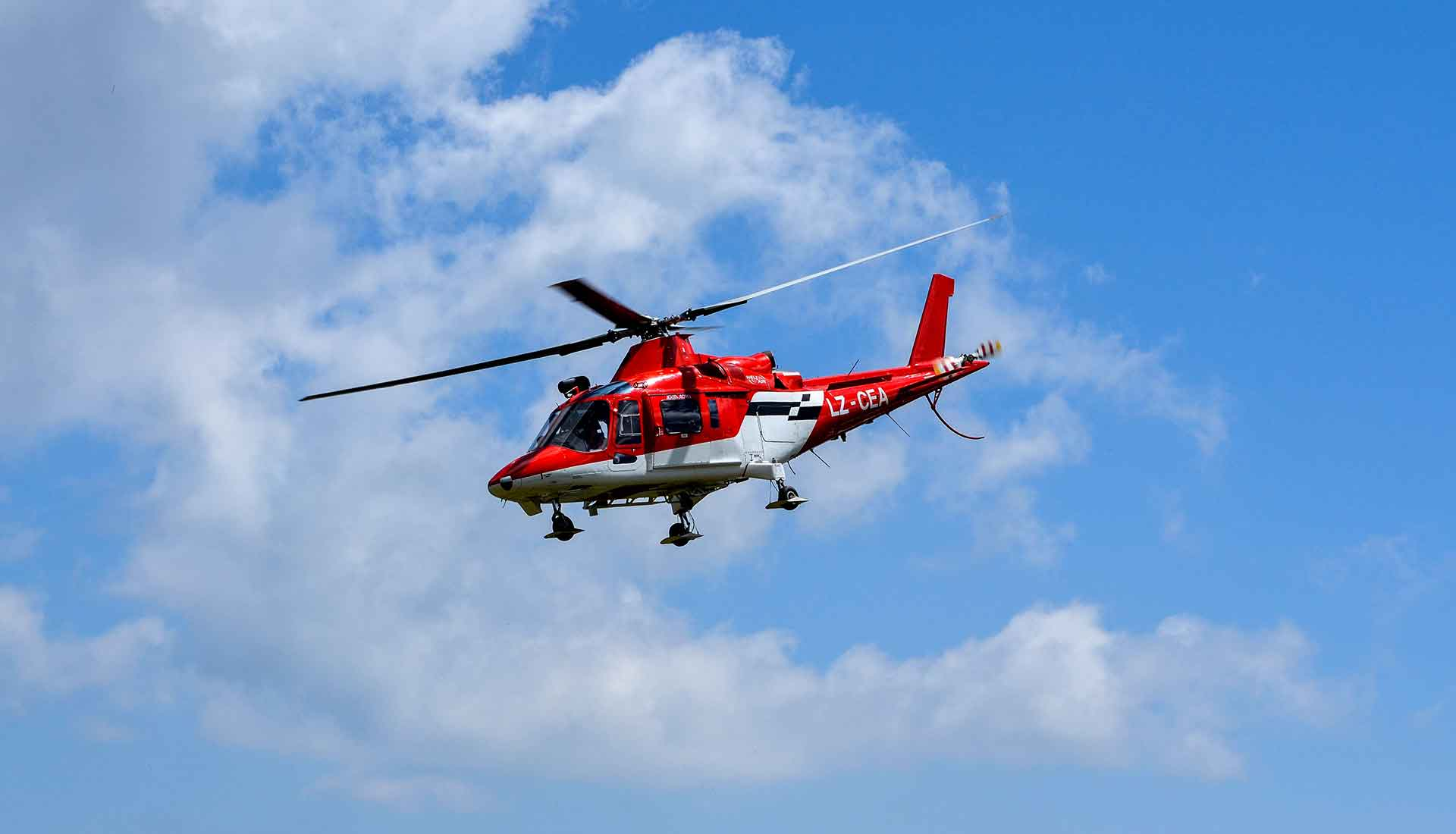 Последната въздушна линейка България