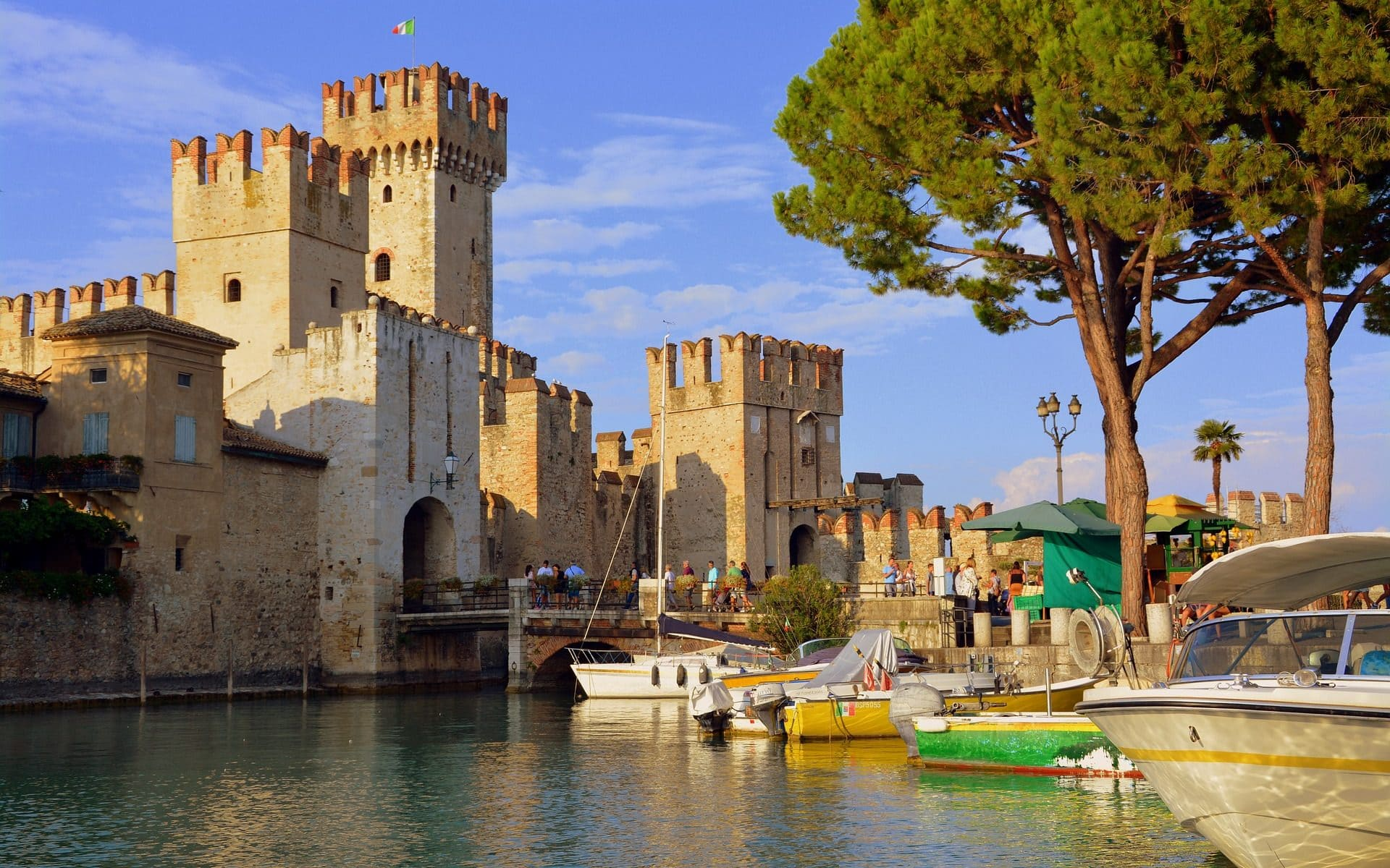 Castle in Sirmione