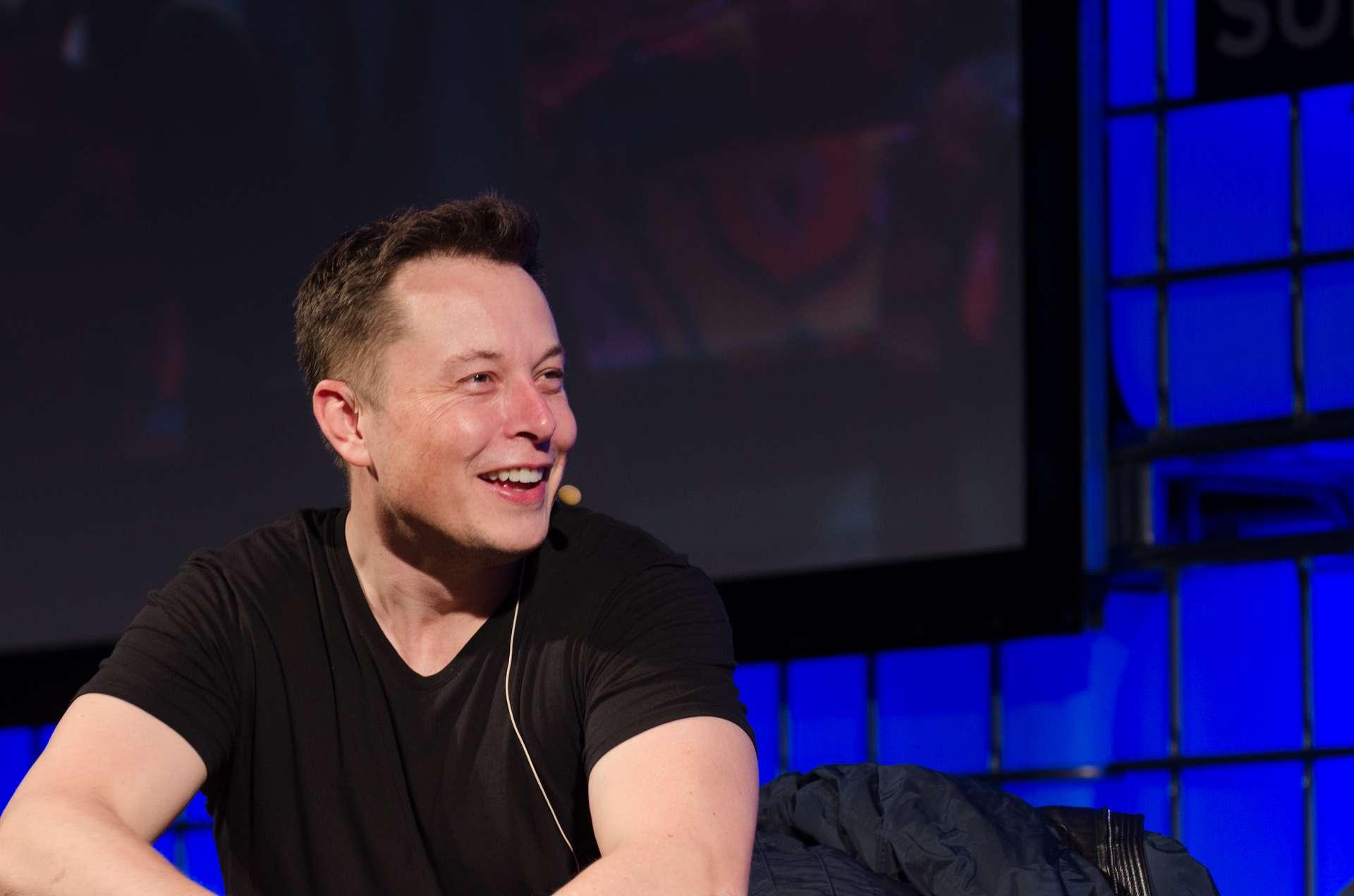 Tesla founder Elon Musk on stage at a forum on the internet in Dublin, Ireland in 2013. (Image Credit: Dan Taylor/Heisenberg Media)