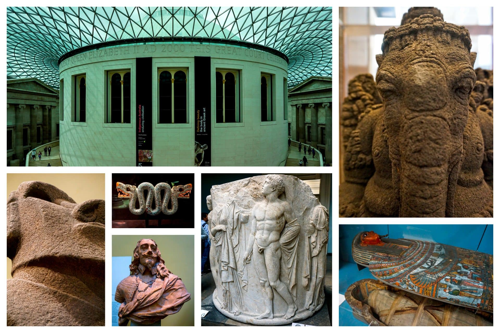 British museum, London - Experiencing the Globe