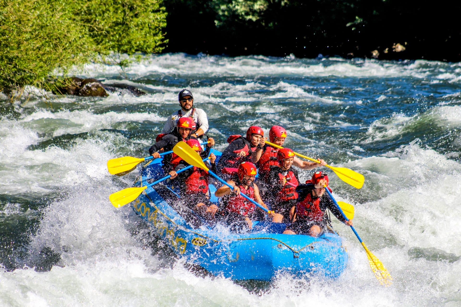 Rafting in the Trancura river, Pucon, Chile - Experiencing the Globe