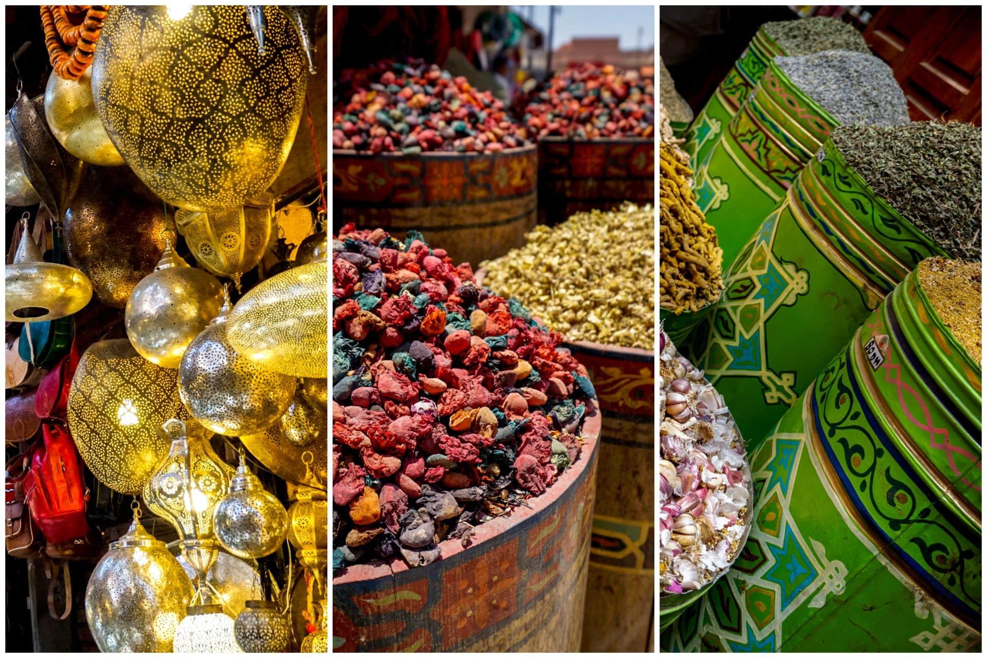 Souk, Marrakesh, Morocco - Experiencing the Globe
