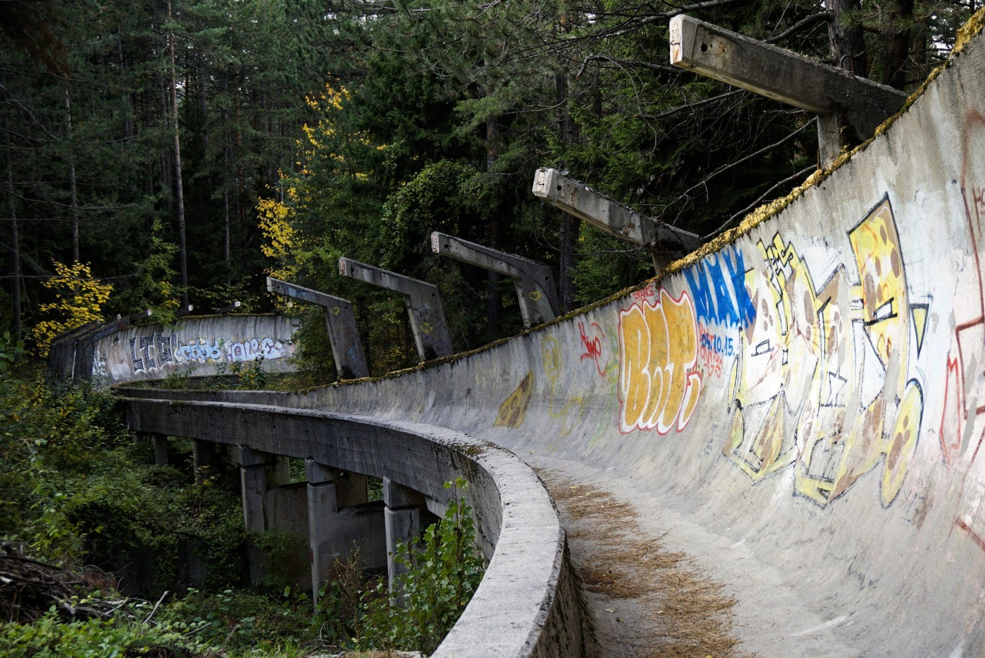 Abandoned venues of the Winter Olympics, Sarajevo, Bosnia and Herzegovina - Experiencing the Globe