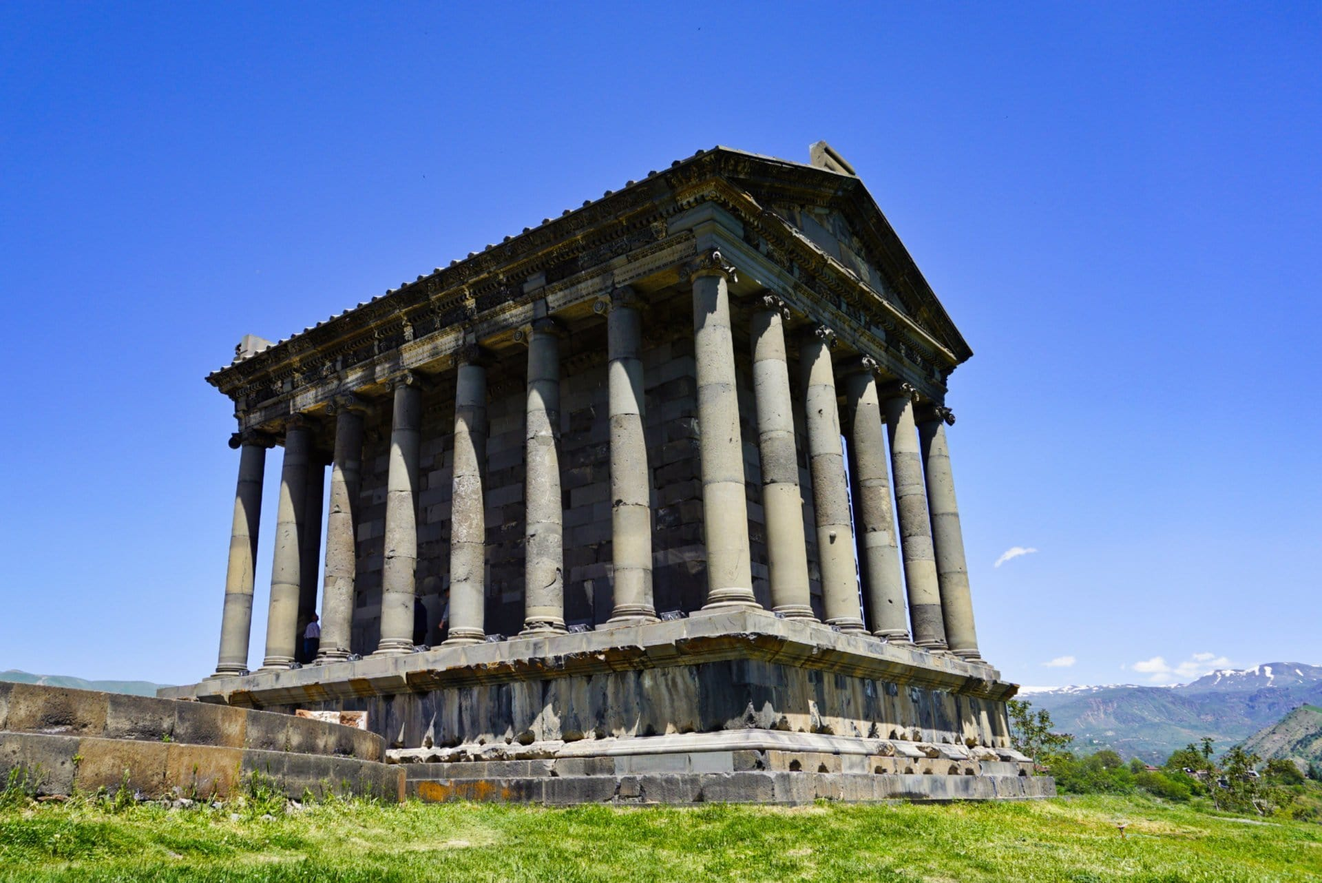 Garni temple, Armenia - Experiencing the Globe