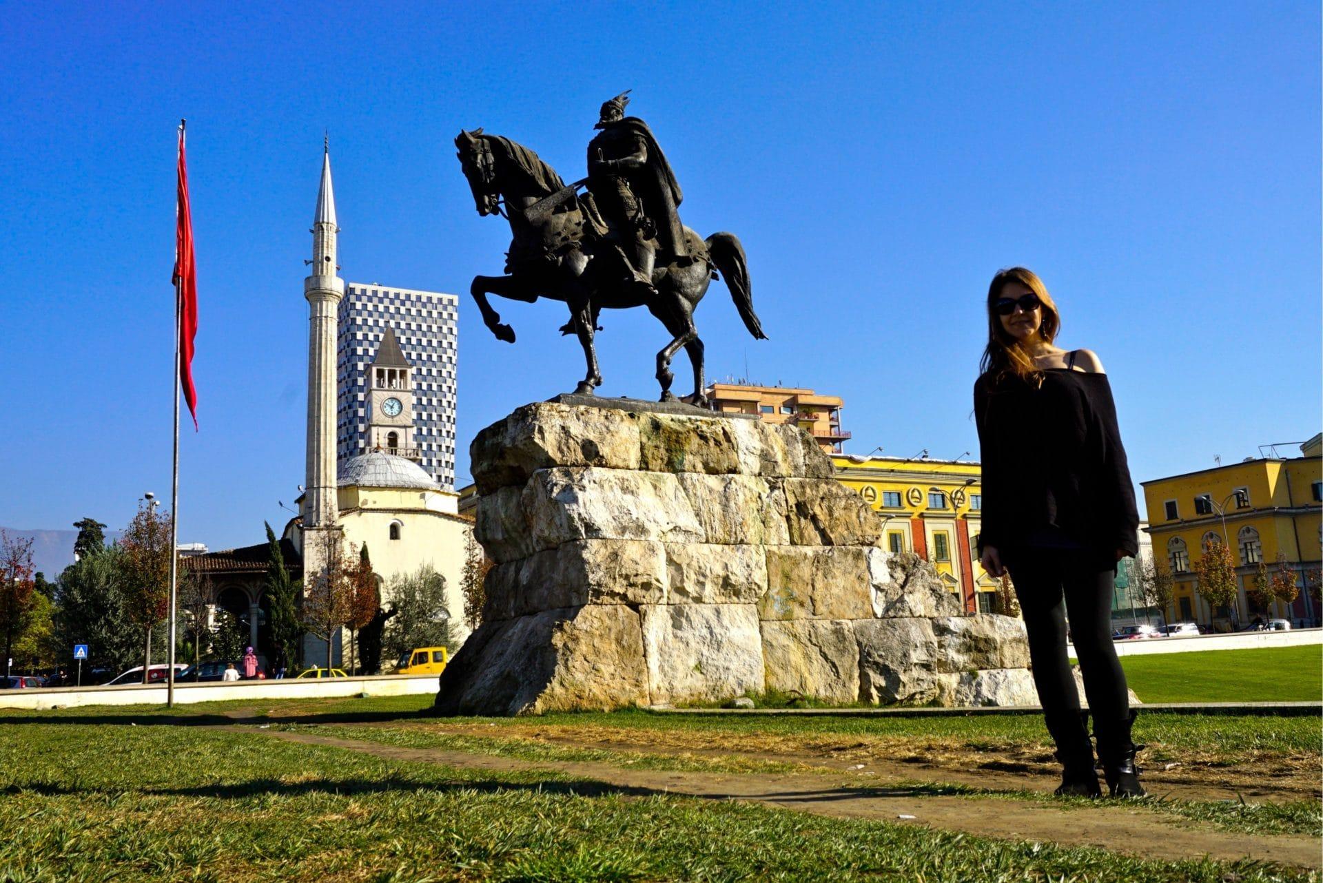 Skanderbeg square, Tirana, Albania - Experiencing the Globe
