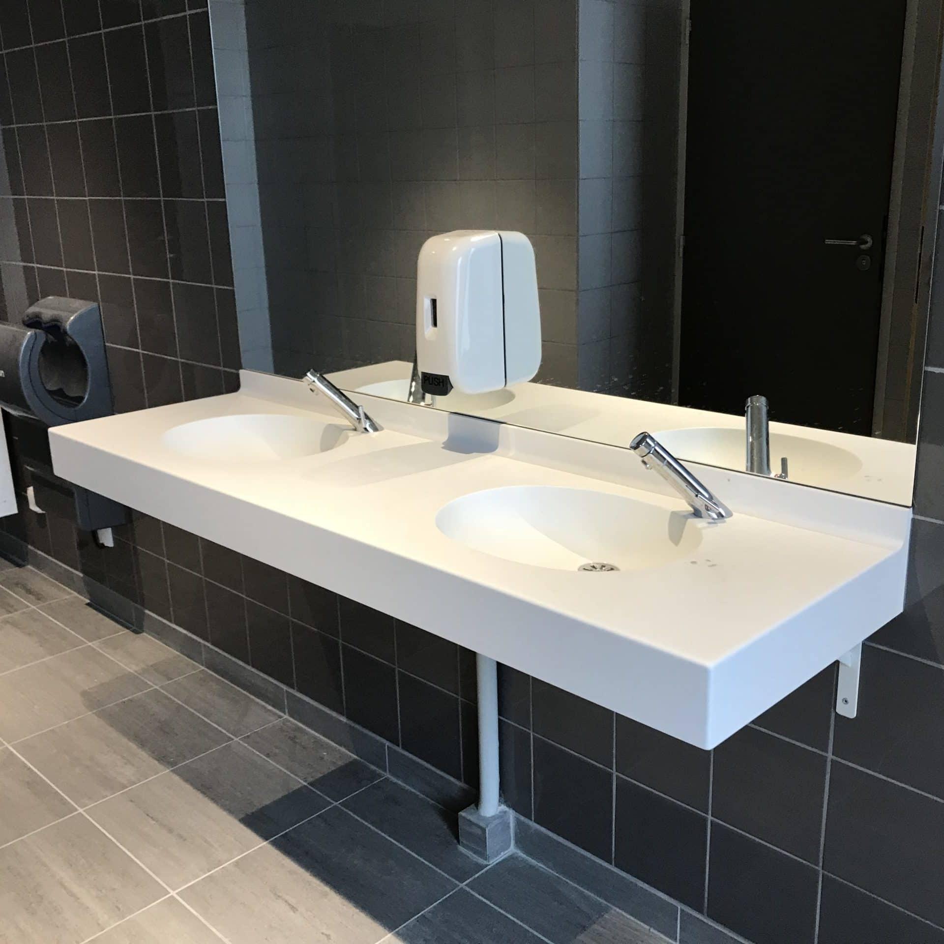 Plan vasque - Corian - BF PRO