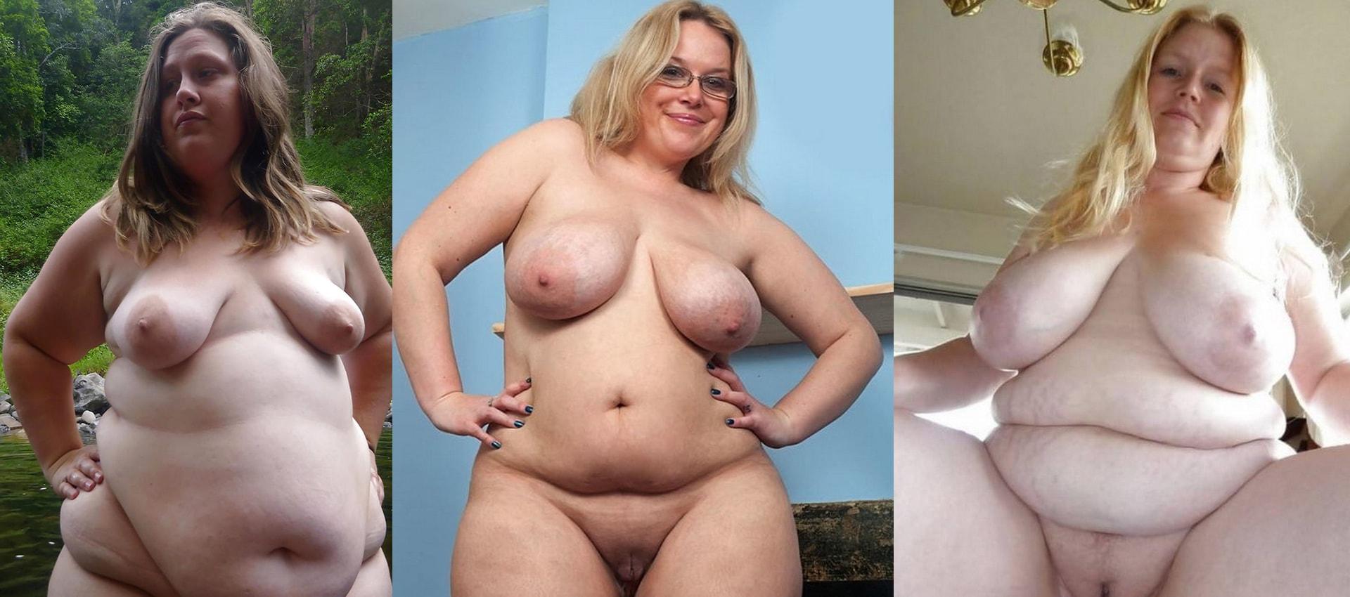 Nackt vollschlanke frauen reifen frau