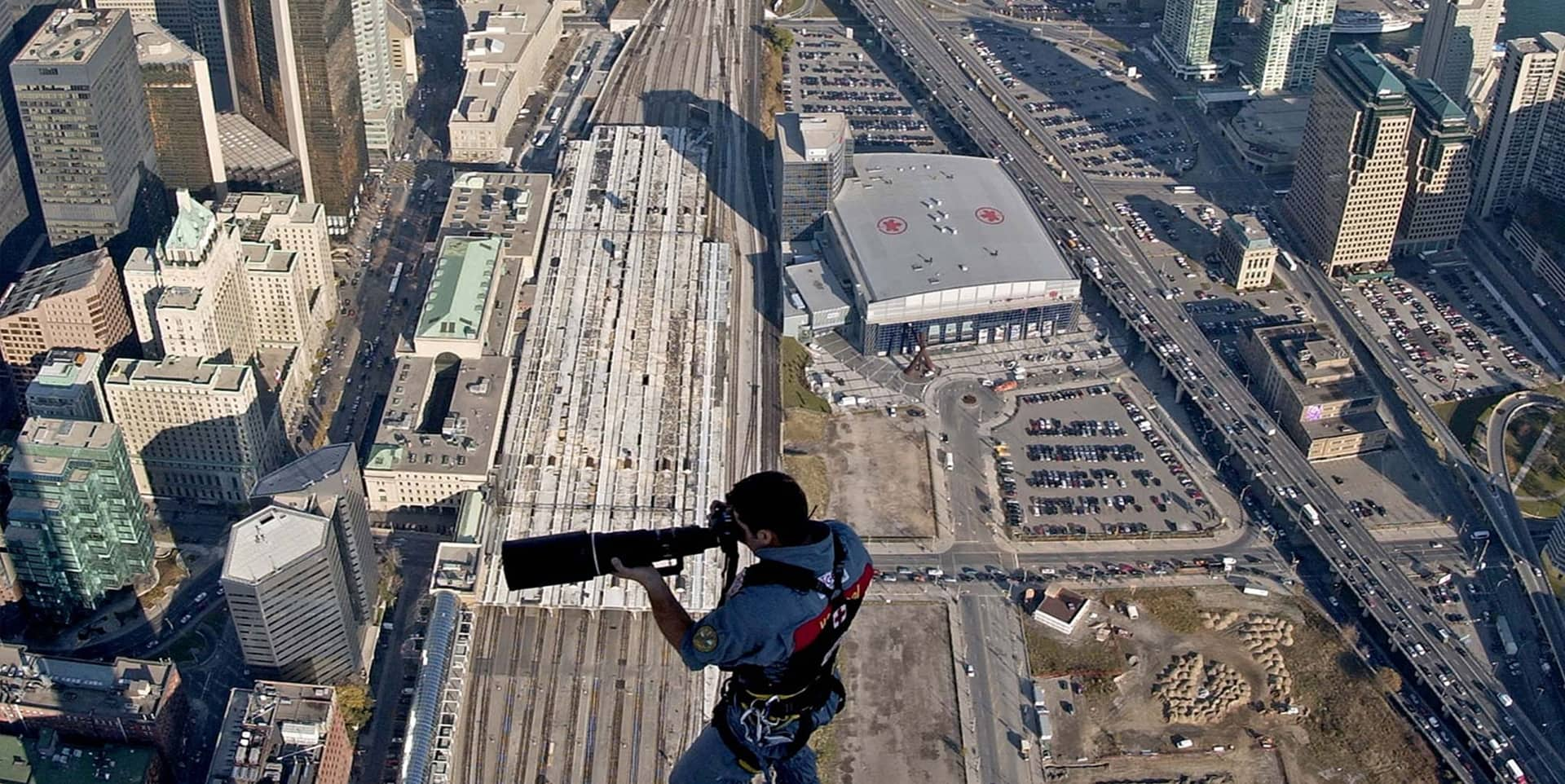 World's First Rope Access above 500m.