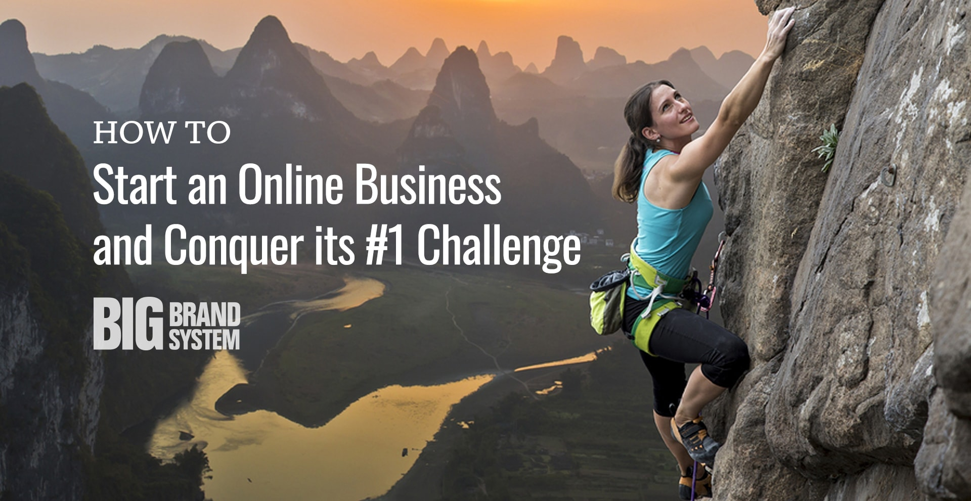 Discover how to start an online business with the Plan & Grow BIG approach — it will help you conquer the #1 challenge online business owners face!
