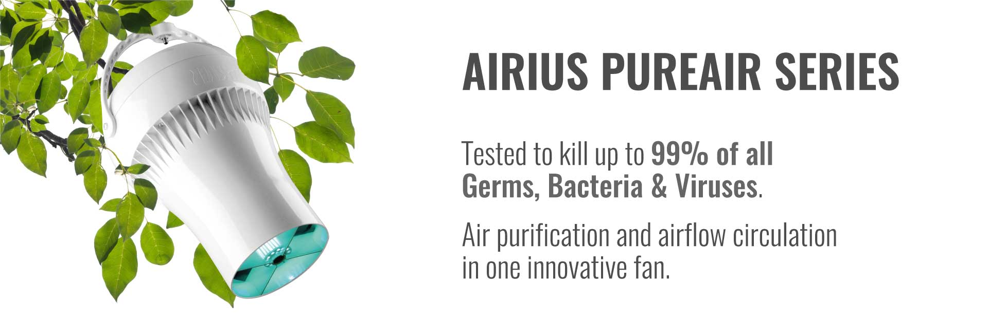 Airius PureAir Kills Coronaviruses and PHI Kills Viruses