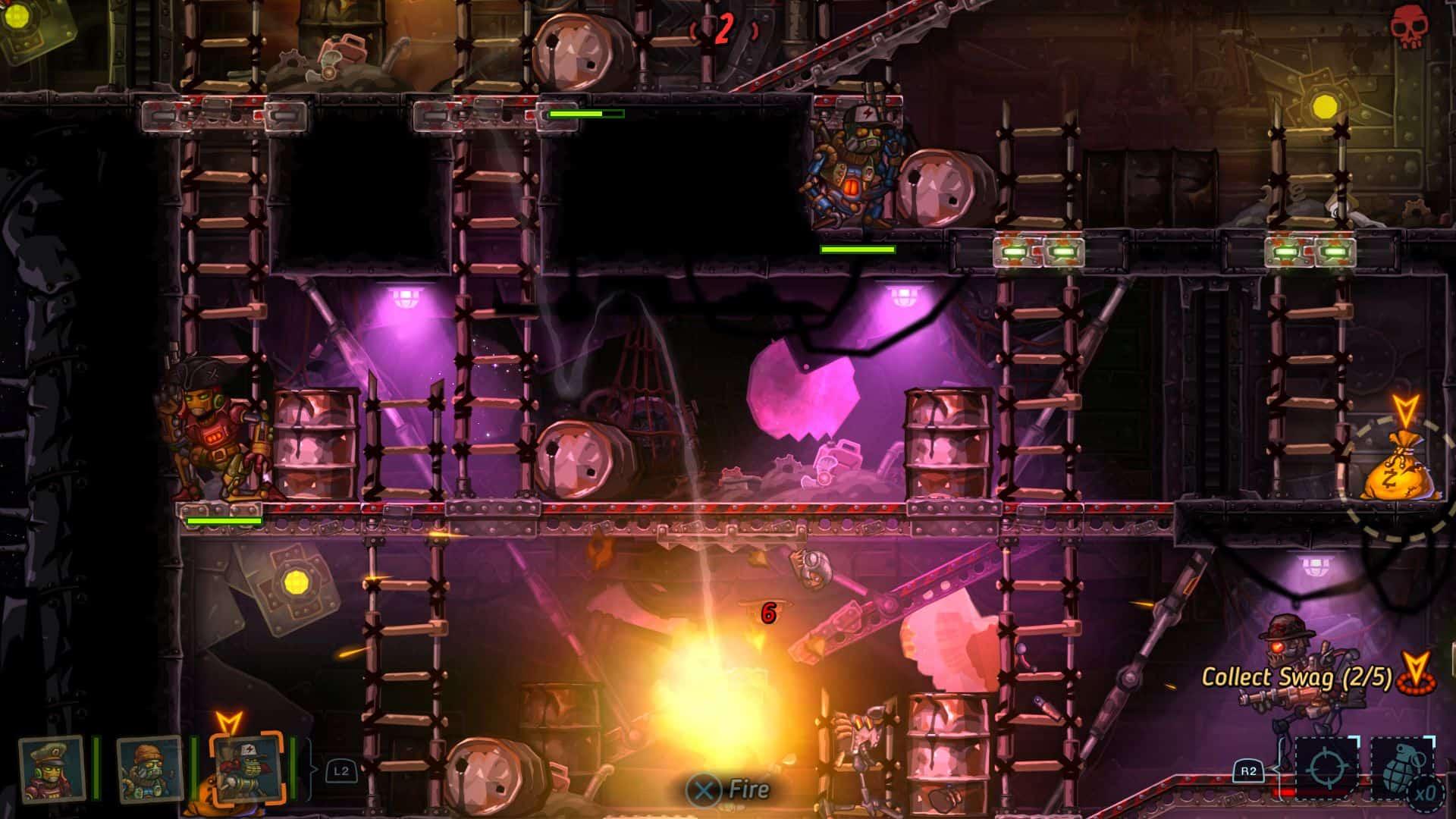 SteamWorld Heist