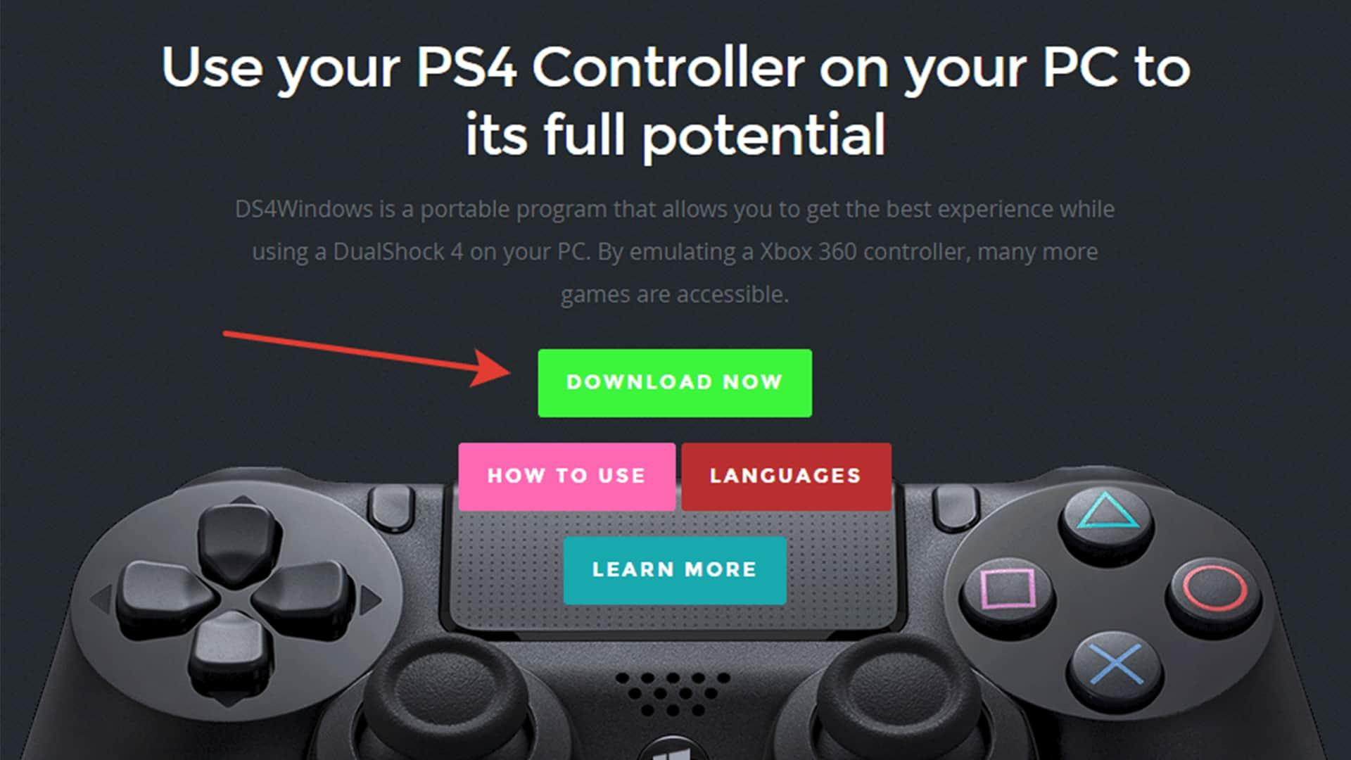 Как подключить джойстик от PS4 к ПК?