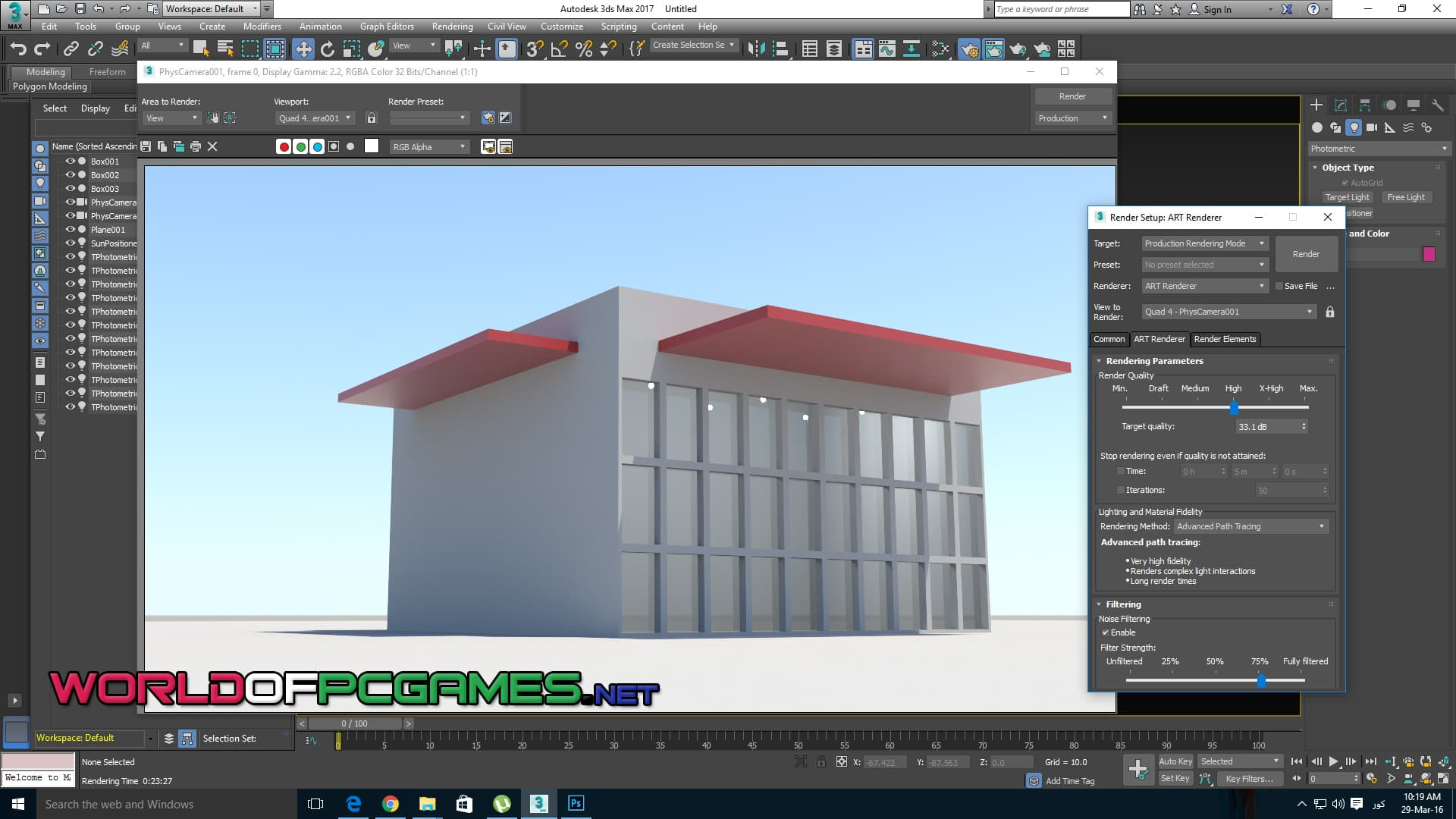 Autodesk 3DS Max 2018 Free Download By Worldofpcgames.com