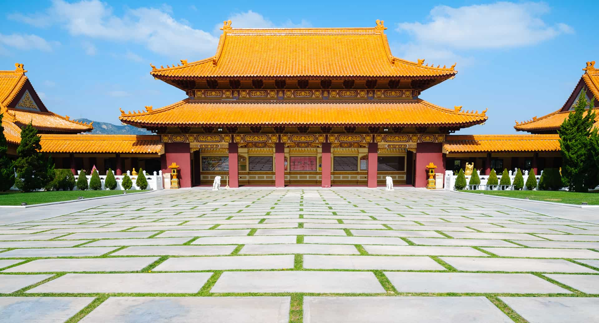 Hsi Lai Temple, one of the most spiritual places in the US