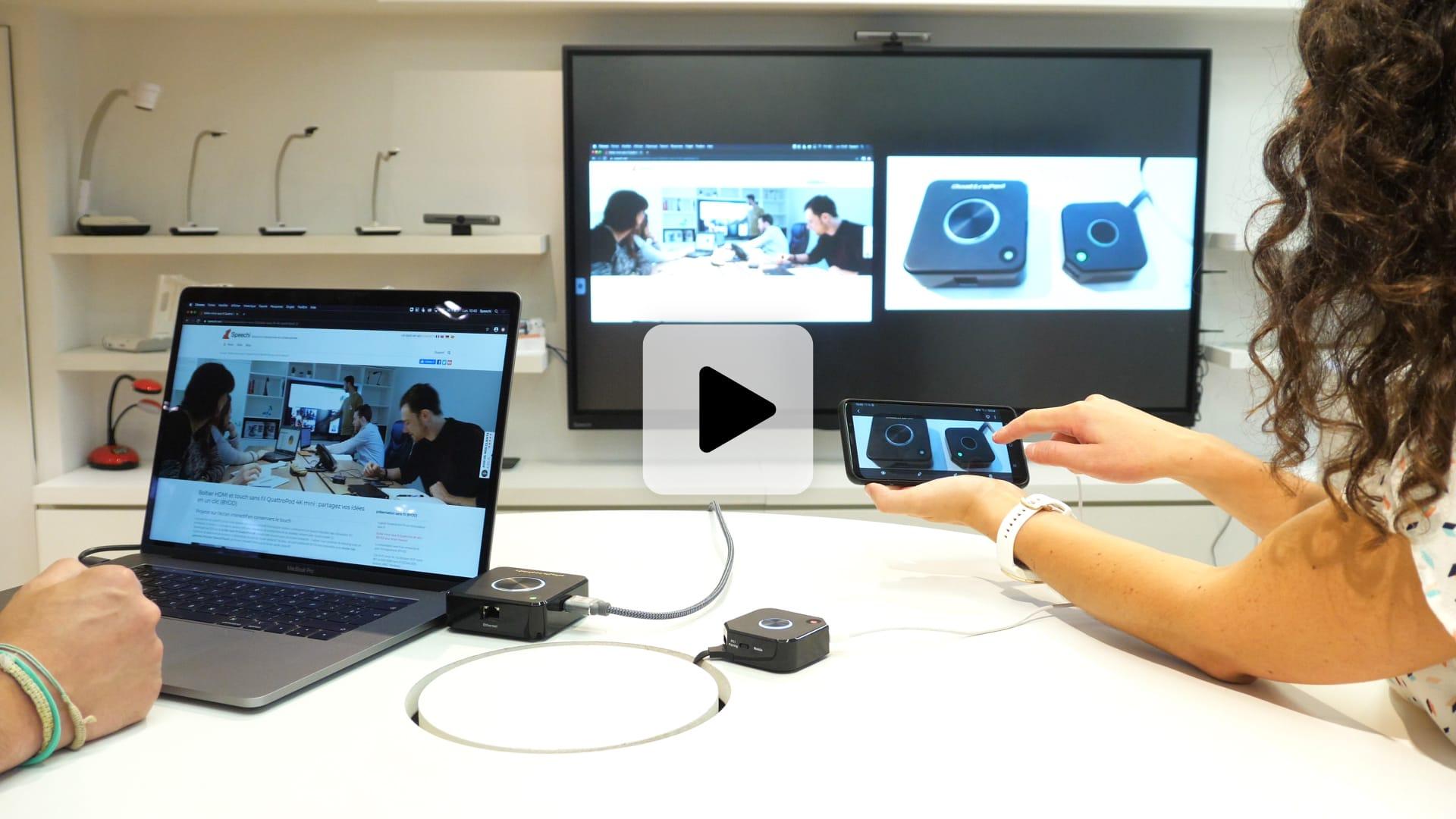 BYOD sur écran interactif