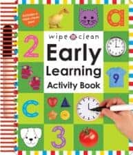 Early Learning Activity Book Terrific Travel and Activity Books for Kids