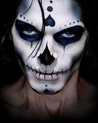 Maquillaje calavera mexicana hombre-maquillaje-calavera-catrina