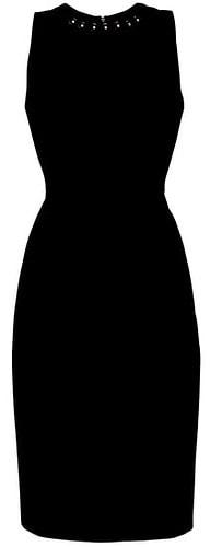 Harper Rose embellished sheath dress | 40plusstyle.com