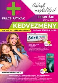 Kulcs patika akciós újság 2019. 02.01-02.28