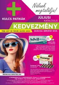 Kulcs patika akciós újság 2019. 07.01-07.31