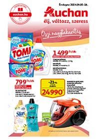 Auchan akciós újság 2019. 09.05-09.18