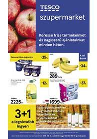 Tesco szupermarket akciós újság 2019. 09.12-09.18