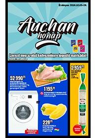 Auchan Szupermarket akciós újság 2019. 10.03-10.09
