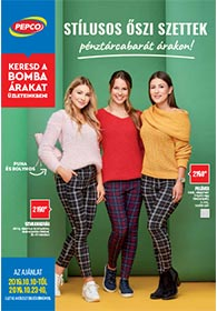 PEPCO akciós újság 2019. 10.10-10.23