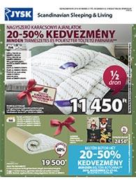 JYSK akciós újság 2019. 11.21-12.08