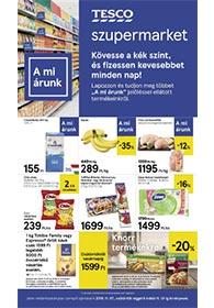 Tesco szupermarket akciós újság 2019. 11.07-11.13