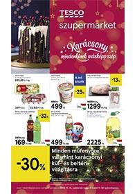 Tesco szupermarket akciós újság 2019. 11.14-11.20