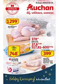 Auchan akciós újság 2019. 12.19-12.24