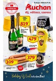 Auchan akciós újság 2019. 12.27-12.31