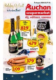 Auchan Szupermarket akciós újság 2019. 12.27-12.31